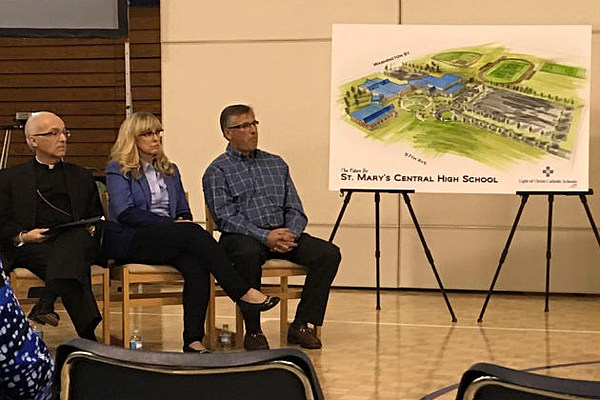 St Mary S High School To Get New Home In North Bismarck