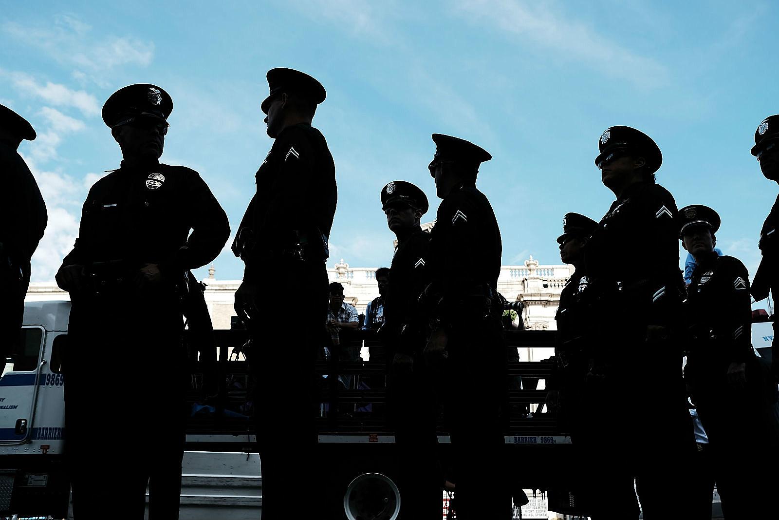 Police Funeral_Spencer Platt/Getty