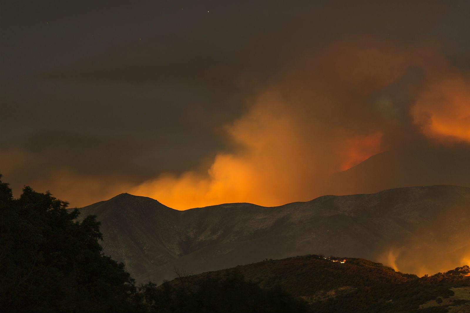 Wildfire_David McNew/Getty