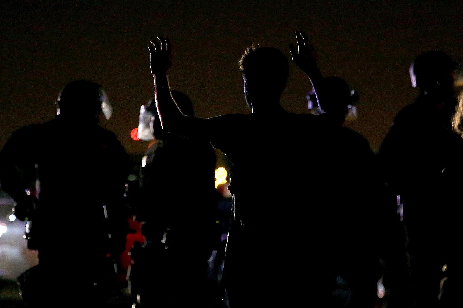 Police night_Justin Sullivan/Getty